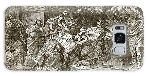 Ides Of March Galaxy Case - Assassination Of Julius Caesar by English School