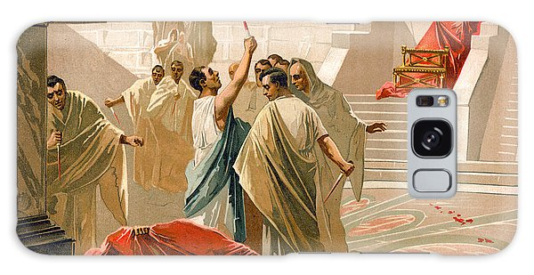 Ides Of March Galaxy Case - Assassination Of Julius Caesar by Spanish School