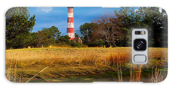 Assateague Lighthouse Reflection Galaxy Case