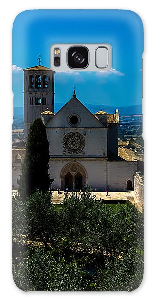 Assisi-basilica Di San Francesco Galaxy Case