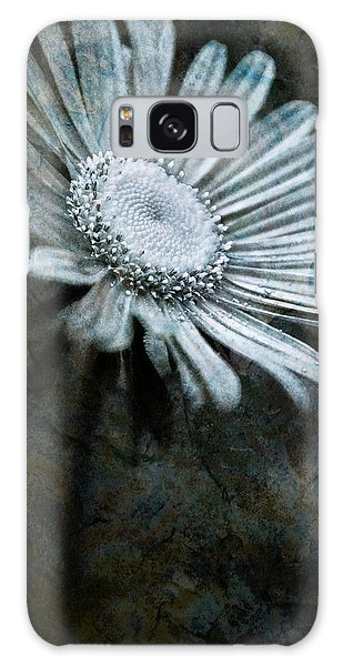 Aster On Rock Galaxy Case