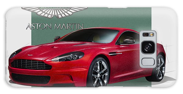 Automotive Galaxy Case - Aston Martin  D B S  V 12  With 3 D Badge  by Serge Averbukh