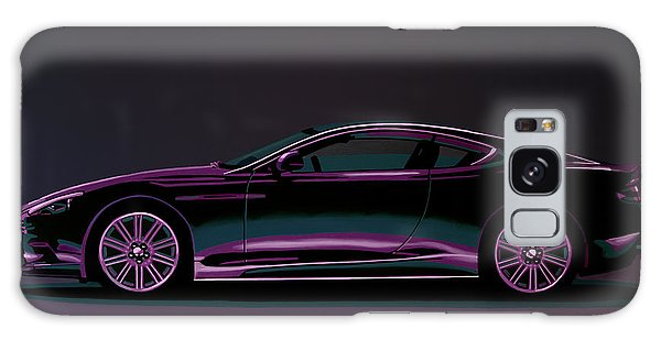 Motor Galaxy Case - Aston Martin Dbs V12 2007 Painting by Paul Meijering