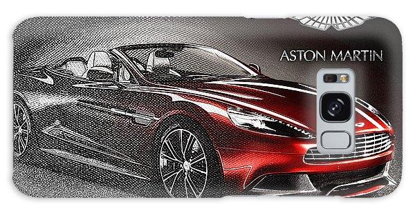 Automotive Galaxy Case - Aston Martin Vanquish Volante  by Serge Averbukh