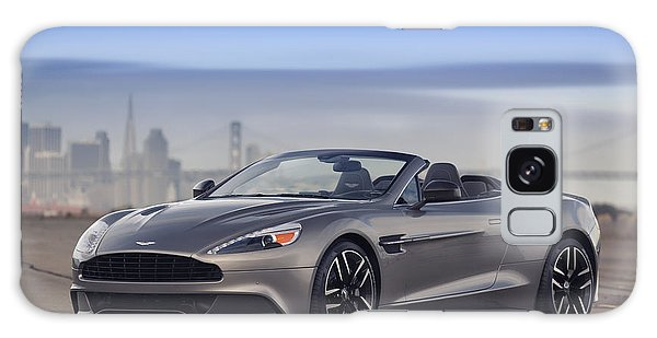 Galaxy Case featuring the photograph Aston Vanquish Convertible by ItzKirb Photography