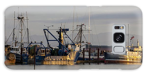 Astoria Fishing Fleet At Dawn Galaxy Case