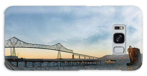 Astoria Megler Bridge By Riverwalk Panorama Galaxy Case