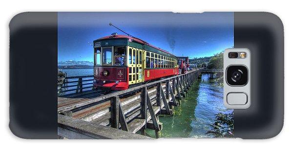 Astoria Riverfront Trolley Galaxy Case