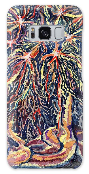 Astrocytes Microbiology Landscapes Series Galaxy Case by Emily McLaughlin