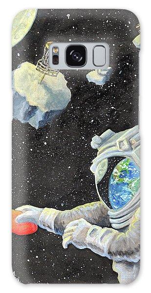Astronaut Disc Golf Galaxy Case
