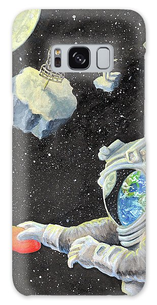 Astronaut Disc Golf Galaxy Case