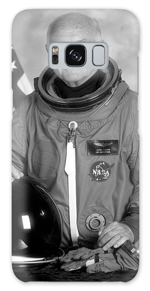 Astronauts Galaxy S8 Case - Astronaut John Glenn - 1998 by War Is Hell Store