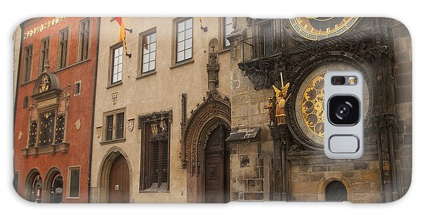 Astronomical Clock In Old Prague Galaxy Case