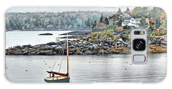 At Anchor - Maine Galaxy Case