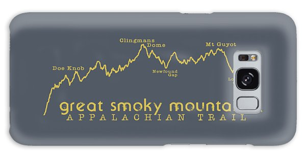 At Elevation Profile Gsm Mustard Galaxy Case by Heather Applegate