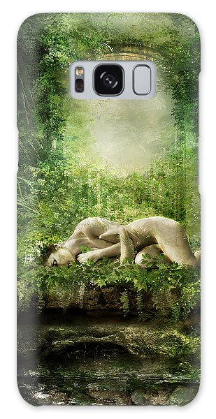 Elf Galaxy Case - At Sleep by Karen Koski