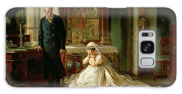 Heartache Galaxy Case - At The Altar by Firs Sergeevich Zhuravlev