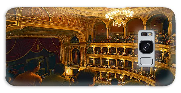 At The Budapest Opera House Galaxy Case by Madeline Ellis