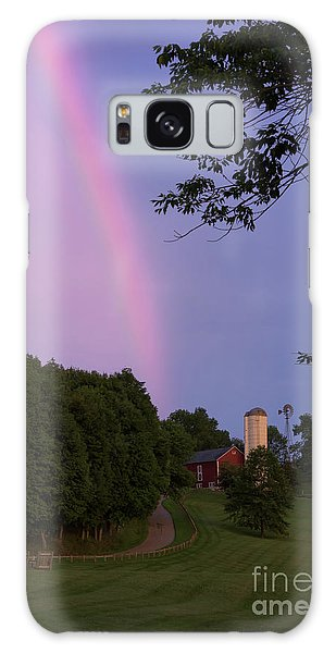 At The End Of The Rainbow Galaxy Case by Nicki McManus
