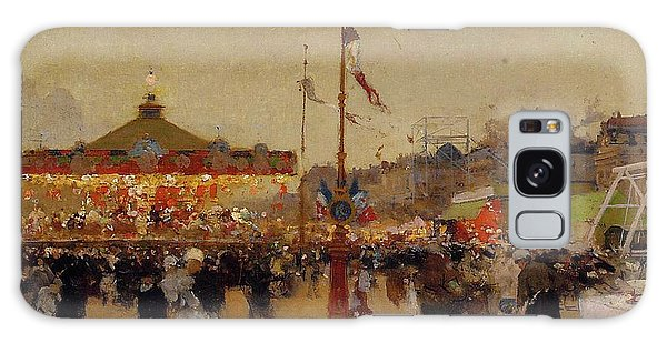 People Galaxy Case - At The Fair  by Luigi Loir