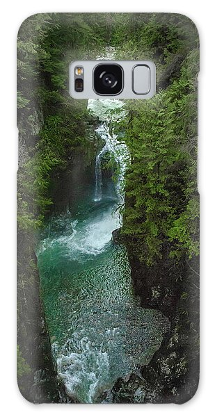Wonderful Waterfall Galaxy Case