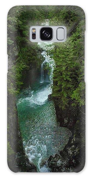 Wonderful Waterfall Galaxy Case