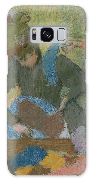 Style Galaxy Case - At The Hat Maker by Edgar Degas