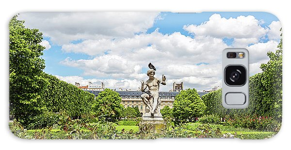 At The Palais Royal Gardens Galaxy Case by Melanie Alexandra Price