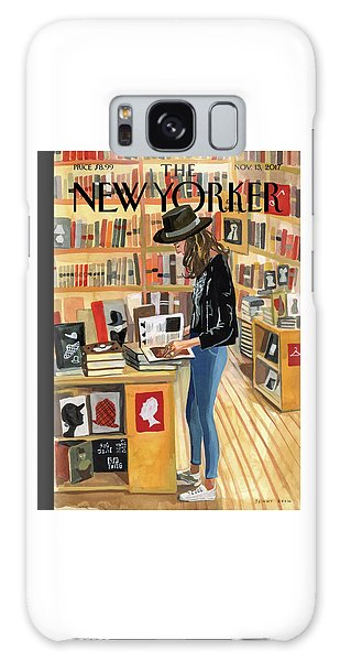 Times Square Galaxy Case - At The Strand by Jenny Kroik