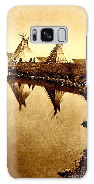 At The Waters Edge 1910 Galaxy Case
