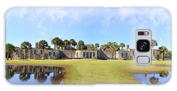 Atalaya Castle At Huntington Galaxy Case by Kathy Baccari
