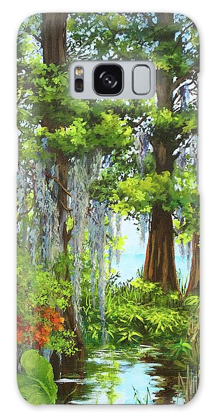 Atchafalaya Swamp Galaxy Case by Dianne Parks