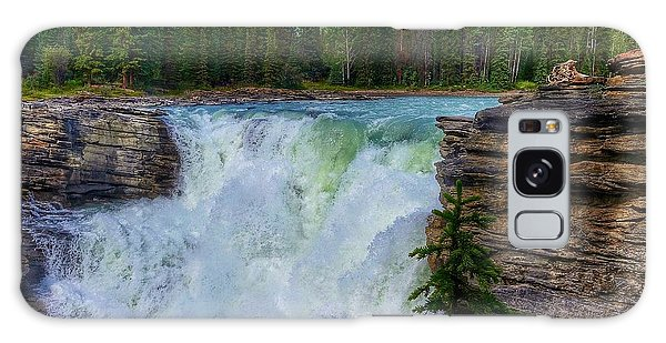 Athabasca Falls, Ab  Galaxy Case by Heather Vopni