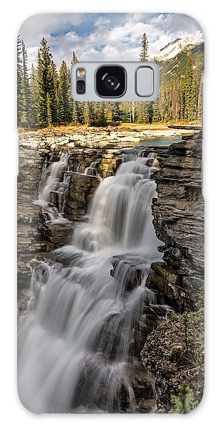 Athabasca Falls Galaxy Case by John Gilbert