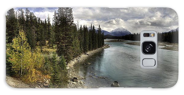 Galaxy Case featuring the photograph Athabasca River by John Gilbert