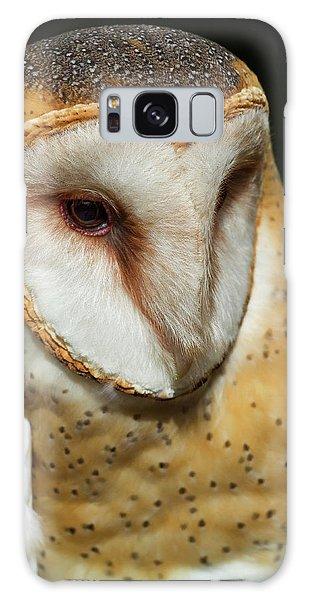 Athena The Barn Owl Galaxy Case