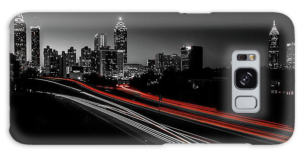 Atlanta Black And White Galaxy Case
