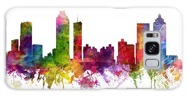 Colours Galaxy Case - Atlanta Cityscape 06 by Aged Pixel