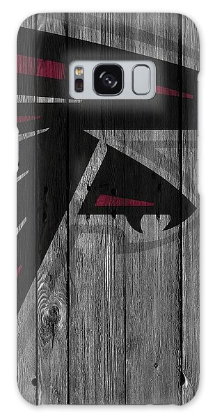 Atlanta Falcons Wood Fence Galaxy Case