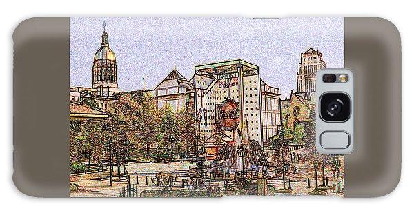 Atlanta Georgia Usa - Color Pencil Galaxy Case