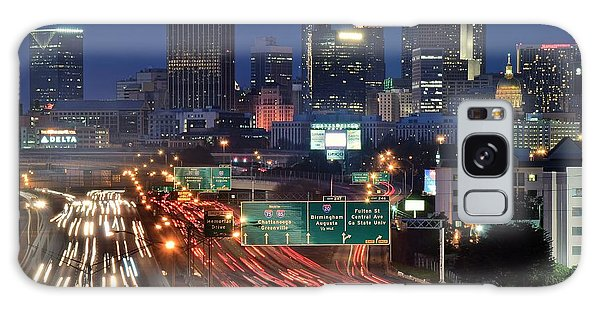 Atlanta Heavy Traffic Galaxy Case by Frozen in Time Fine Art Photography