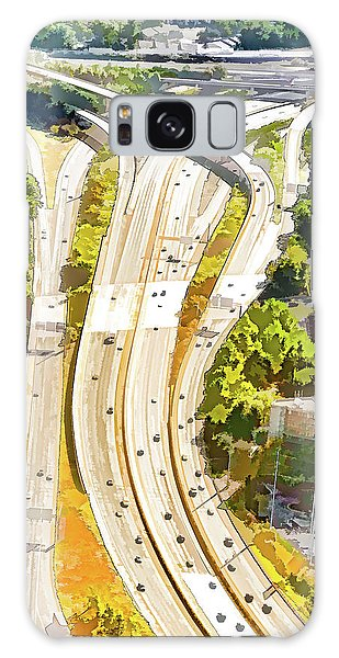 Atlanta Highways Galaxy Case