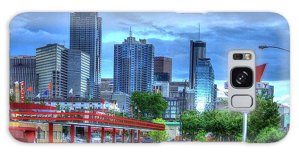 Atlanta Landmark The Varsity Art Galaxy Case