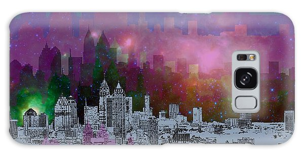 Place Galaxy Case - Atlanta Skyline 7 by Alberto RuiZ