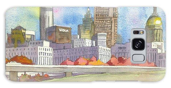 City Galaxy Case - Atlanta Skyline Color by Scott Serafy