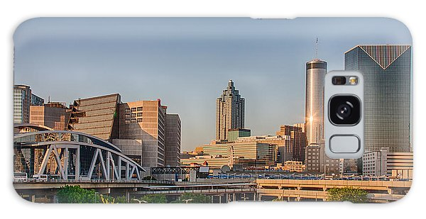 Atlanta Skyline Philips Arena Galaxy Case