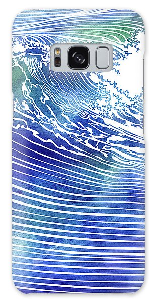 Atlantic Waves Galaxy Case