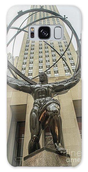 Atlas Rockefeller Center Galaxy Case by Timothy Lowry