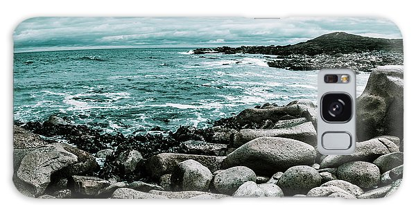 Tides Galaxy Case - Atmosphere In A Looming Sea Storm by Jorgo Photography - Wall Art Gallery