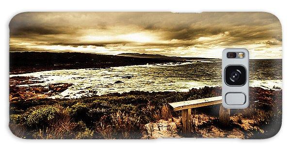 Cloudscape Galaxy Case - Atmospheric Beach Artwork by Jorgo Photography - Wall Art Gallery